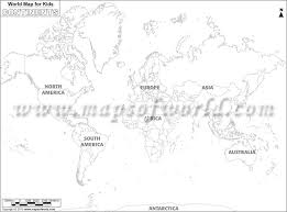 World Map Black And White Printable With Countries Black And White World Map For Kids Room