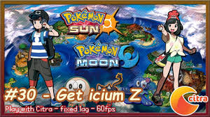 https://youtu.be/FEse8sN9pmY Let's play Pokemon Sun & Moon on PC - #30 Get  Icium Z