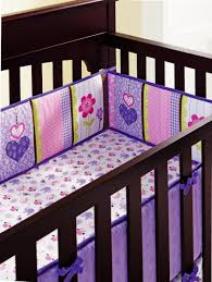bed baby paracolpi lettino cot linen 4 5pcs baby bedding sets purple owl baby girl bedding