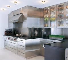 Top 62 Striking Stainless Steel Kitchen Cabinets Steelkitchen With