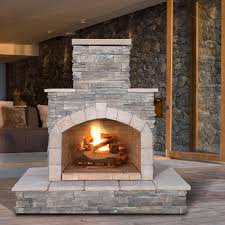 outdoor fireplace gas logs calflame natural stone propane gas from propane gas log fireplace source pechedescarnassiers com