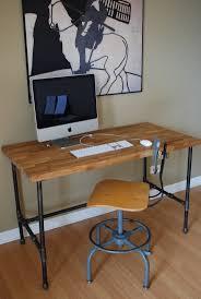 Make Your Own Computer Desk 316 Best Pipe Desks Images On Pinterest Pipe Desk Desk Plans