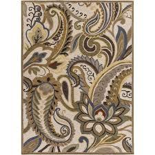 surya centennial 8 x 11 hand hooked wool rug