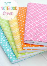 cute easy diy notebook cover