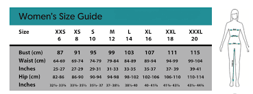 Chart Cm To Inches Scrumbum Sizing Chart