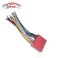 online buy whole mazda 6 wiring harness from mazda 6 car radio stereo female iso plug power adapter wiring harness for mazda 2 mazda 3 mazda