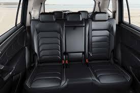 european spec volkswagen tiguan allspace rear interior seats ngo march 2 2017