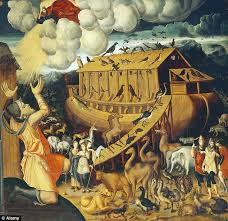 noah s ark is typically portrayed at a traditional ship such as in this italian mid