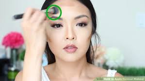 image led apply contour makeup step 10