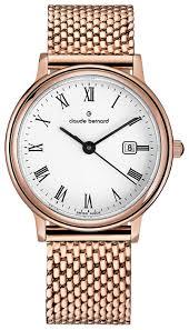 Наручные <b>часы claude</b> bernard 54005-37RMBR — купить по ...