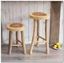 rustic wooden bar stools uk