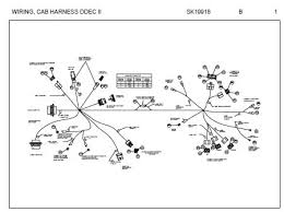 peterbilt cab harness connector schematic for models sk19918 jpg