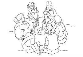 Small Picture Girl Scouts coloring page Free Printable Coloring Pages