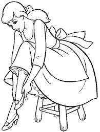 Cinderella Coloring Sheets Free : Princess Cinderella Coloring ...