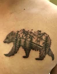 Cal Bear Tattoo 2019