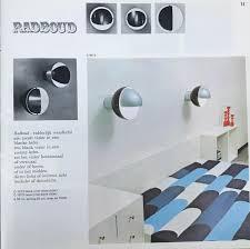 Radboud Wall Light By Raak Brown 1960s
