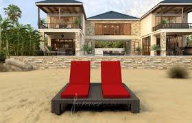 patio umbrella red cushion