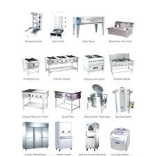 restaurant kitchen equipment. Restaurant Kitchen Appliances Commercial Equipment Names T