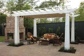 pergola shade options outdoor mesh fabric for pratical solutions every space pergolas and gazebos wooden with
