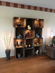 ideas for furniture. Plain For Wood Pallet Beds And Gorgeous Ideas Stain Some Unfinished Apple  Crates Install Lighting Create A Gorgeous Piece Of Furniture In Your Home Throughout For Furniture D
