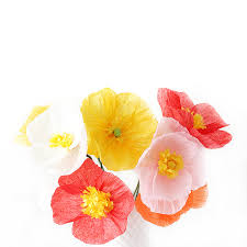 Make A Paper Poppy Flower Flower Friday Diy Paper Poppies Why Dont You Make Me