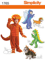 Dog Costume Patterns New Simplicity Pattern Child's Dog Costumes 44848 448 448 448 448 48