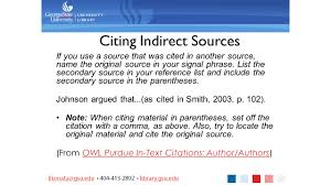 In Text Citations Hackademics Citing While Writing Gsu Library