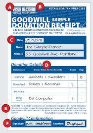 salvation army receipt donation receipt