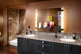 bathroom vanity side lights. example of a trendy bathroom design in sacramento with granite countertops vanity side lights r