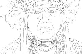 Lovely Native American Coloring Pages Pdf For Native Coloring Sheets
