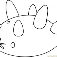 Popplio Coloring Page Arenda Stroy