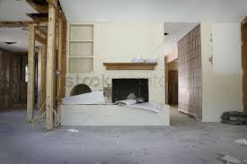 Renovate Brick Fireplace Brick Fireplace And Shelving In House Renovation Houston Texas