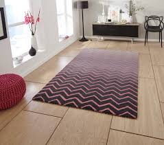 pink grey 100 wool large floor rug contemporary