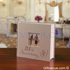 25th Silver Wedding Anniversary Photo Album Gifts For Couples