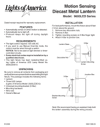 Heath Zenith Motion Sensor Light Stays On Heath Zenith 9600led Series User Manual Manualzz Com