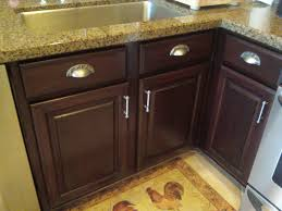 Staining Oak Cabinets Espresso Staining Kitchen Cabinets