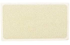non slip grip fast drying hydro shower and bath rug great for elders and children white by aqua rug rugs carpets 3 reviews