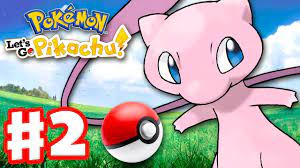 Pokemon Let's Go Pikachu and Eevee - Gameplay Walkthrough Part 2 - How to  Get Mew! Poke Ball Plus! - YouTube
