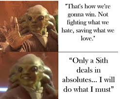 Best Star Wars Quotes Awesome Kit Fisto Knows The Best Star Wars Quotes PrequelMemes
