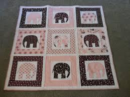 137 best Elephant quilts images on Pinterest   Quilt blocks ... & Elephant quilt · Elephant AppliqueElephant Quilts PatternQuilt ... Adamdwight.com