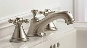 bathroom faucets widespread. A Close Up Of Chrome Mini-widespread Bathroom Faucet On Porcelain Sink Faucets Widespread O