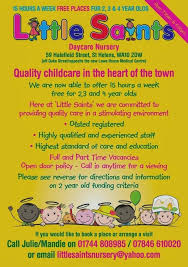 Free Printable Daycare Flyers Child Care Newsletter Templates Day Center Template Daycare