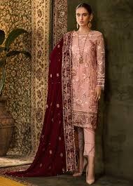 Pink Velvet Suit Design Designer Salwar Kameez Designer Punjab Suits Pakistani Salwar Kameez