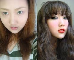 18 asian s before and after makeup