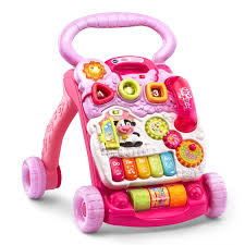 Amazon.com: VTech Sit-to-Stand Learning Walker, Pink: Toys & Games