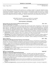 Sample Resume Talent Management Professional Resume Templates