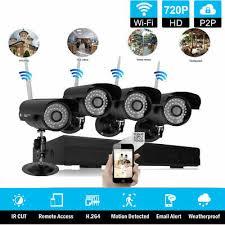 8CH <b>Wireless</b> HDMI NVR <b>Outdoor</b> Rainproof <b>WIFI IR</b> Camera CCTV ...
