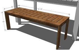 plans for benches awesome log bench 3 outdoor wood seat newfangled outdoor wood benches