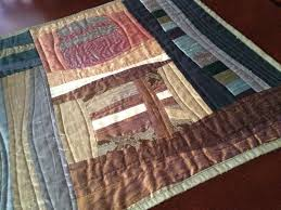 How to Make a Quilt from Old Clothes: Inspiration & More & Quilting with ties Adamdwight.com