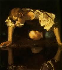 caravaggio painting narcissus ca 1599 1600